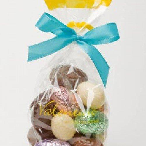 Пакет с малки великденски шоколадови яйчица